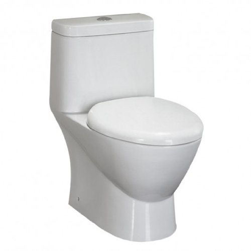 ARIEL TB346M Contemporary European Toilet - White - Dual Flush