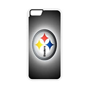 iPhone6 Plus 5.5 inch Phone Case White pittsburgh steelers JIL682402