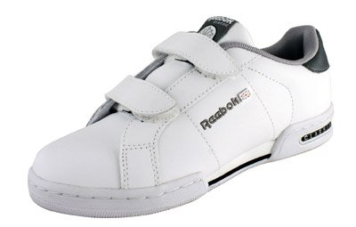 reebok white tennis shoes with velcro