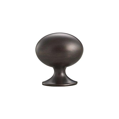 BHP Oval Egg Cabinet Knob Dark Bronze