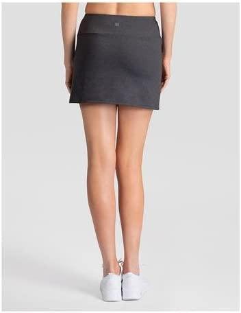BLK Heather Gisela 14.5 Skort Dark Grey