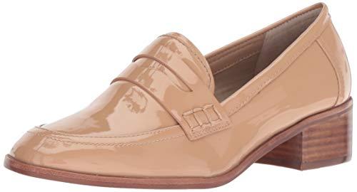 STEVEN by Steve Madden Women's IONA Loafer, Blush Patent, 8 M US ()