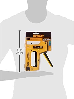 Dewalt DWHTTR350 Heavy-Duty Aluminum Stapler/Brad Nailer from Dewalt