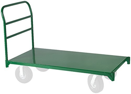 Wesco Industrial Products 272267 Steel Platform Truck, 4000 lb. Capacity, 24'' Width x 48'' Length Platform