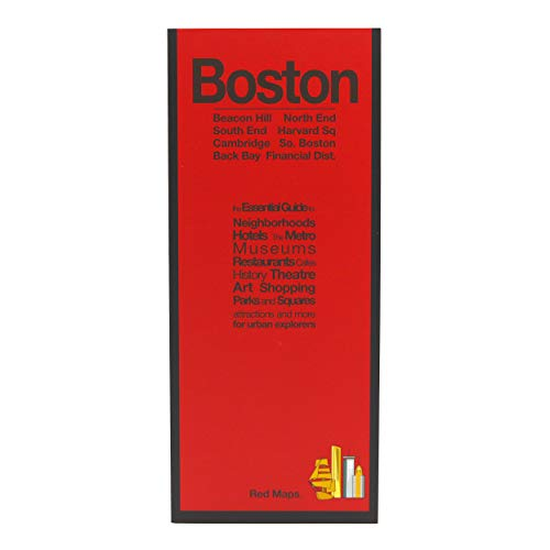 Red Maps BOSTON Street Map and City Guide