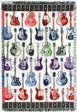 Guitars Guitar Strummin Fender Gibson Cotton Throw Blanket