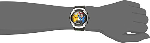 Large Product Image of Pokémon Kids' Watch POK3018 Digital Display with Fun Multi-Color Flashing LCD Lights