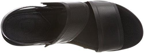 Mujer RAW Black Flatform Corestrap Negro de Sandalias para 990 G Plataforma Star 4nZSW48
