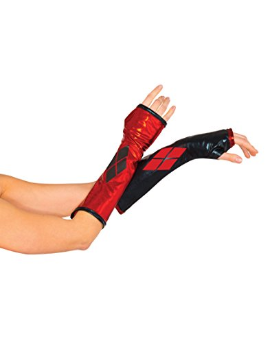 Rubie's Costume Co Harley Quinn Arm Warmers - Batman Gauntlets for teens and adults]()