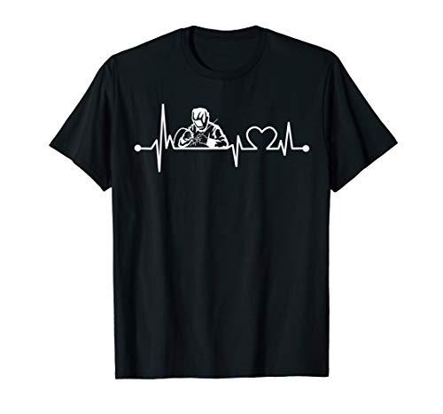 - Welder Heartbeat T-Shirt Funny for Welding Cool Gift