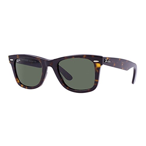 Ray Ban 2140 WAYFARER RB 2140 902/58 50mm TORTOISE FRAME NATURAL GREEN - 50 2140 Ban Ray