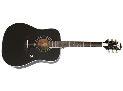 epiphone 6 string pro 1 plus acoustic ebony eappebch1 guitar affinity. Black Bedroom Furniture Sets. Home Design Ideas