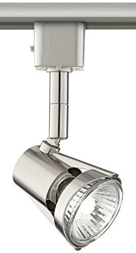 Brushed Nickel GU10 50 Watt Halogen Track Light Head - Pro Track