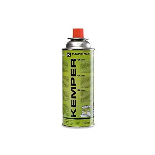 Kemper barbacoa de Gas, portátil, 1, 9 kW, rejilla antiAdherente + 4 cartuchos de gas para acampada: Amazon.es: Jardín