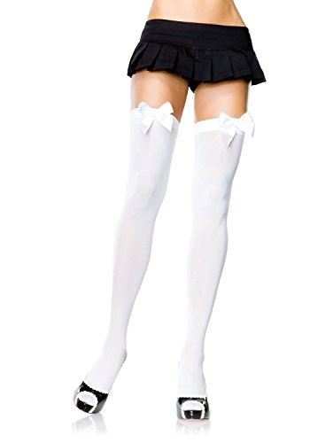 Nylon Satin Stockings - 1