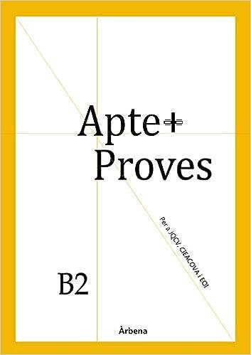 Descargar Libros Torrent Apte+ Proves B2 Leer PDF