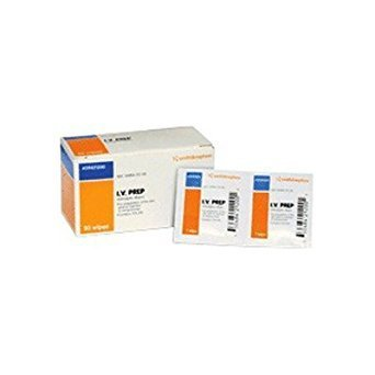 SMITH & NEPHEW IV PREP ANTISEPTIC WIPES 50 WIPES by Smith Nephew