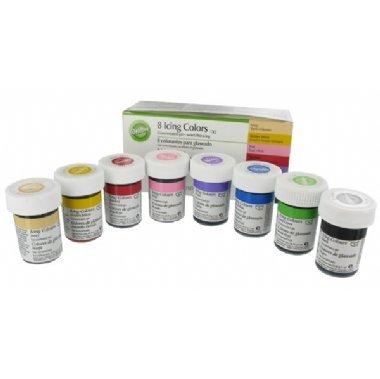 wilton lot de 8 flacons de colorant alimentaire 8 x 28 g - Colorant Alimentaire Wilton