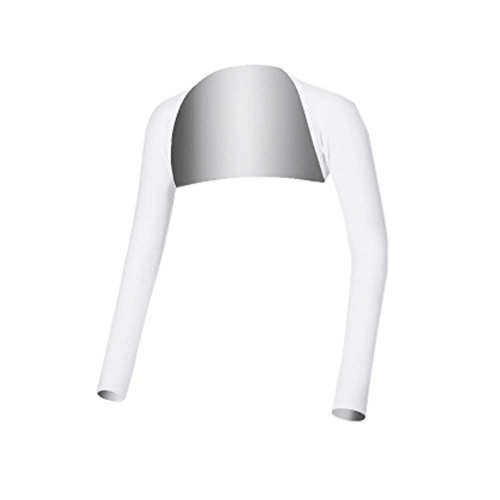 FANCY PUMPKIN Golf Sun Protection Golf Pants Cool Ice Silk Stocking Sport Leggings (White-003) -