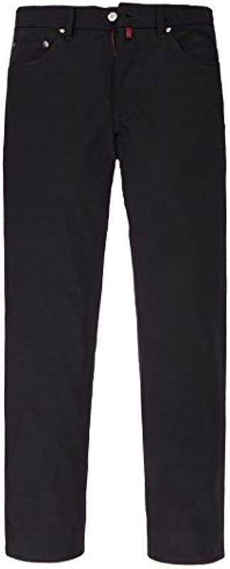 Pierre Cardin spodnie model Deauville łatwe Ceramica czarna 599/88/3196 rozm. 34/32: Odzież