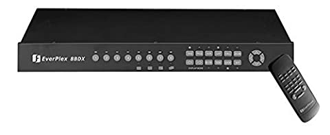 EVERFOCUS EP8BDX EVERFOCUS 8CH B/W DUPLEX MUX - 4 Channel B/w Duplex Multiplexer