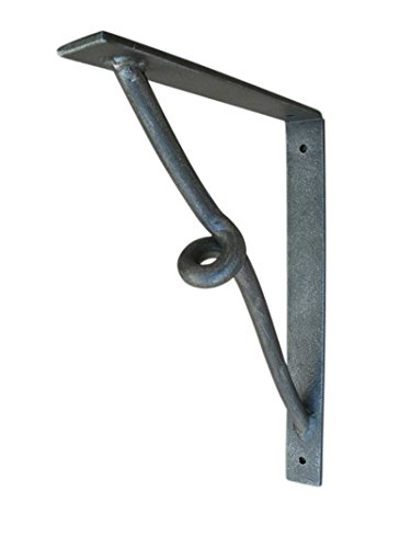 Shoreline Wrought Iron Corbel 11 ¼''X 14 ¼'' for Heavy Duty Wall Support-Great for Interior & Exterior Use with our Custom Hand Applied Finishes-Old Copper by Shoreline Ornamental Iron