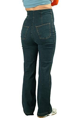 hoher Para Blue Jeans Pantalones Mujer Premamá Christoff Bund HqPRwfTH