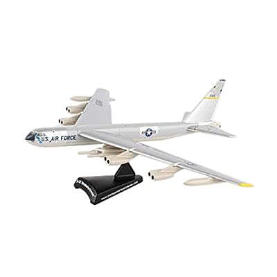 Daron Worldwide Trading Postage Stamp USAF B-52 Stratofortress 1/300 Silve Airplane Model: Toys & Games [5Bkhe1007203]