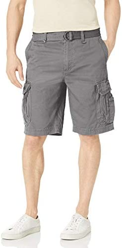 UNIONBAY Men's Survivor Belted Cargo Short-Reg and Big & Tall Sizes 1