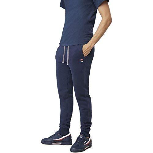 Fila Men's Visconti Jogger Pants, Peacoat, M (Mens Fila Sport Fleece 2-0 Jogger Pants)