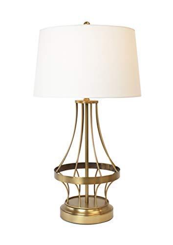 Amazon.com: Marco de alambre inalámbrico lámpara – latón ...