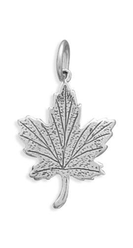 Corinna-Maria 925 Sterling Silver Maple Leaf Charm