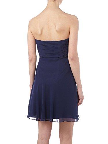 Partykleider Marie Braut Dunkel Einfach Traegerlos Blau Cocktailkleider La Abendkleider Abiballkleider Kurz qwYRadn