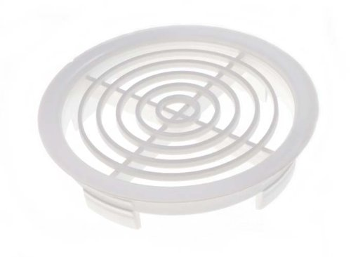 Lot Of 50 Soffit Push In Disc Roof Vent Airflow Ventilator Grille 70Mm 2 3/4 Inch