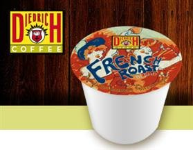 DIEDRICH FRENCH ROAST COFFEE 144 K CUPS