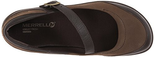 Merrell Womens Dassie Mj Slip-on Marrone Carbone