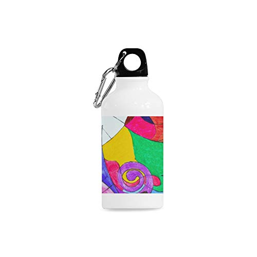 Jnseff Outdoor Simple Fashion Travel Electronic Piano Instrument Creativity Print Design Sport Water Bottle Aluminum Stainless Steel Bottle Aluminum Sport Water Bottle ()
