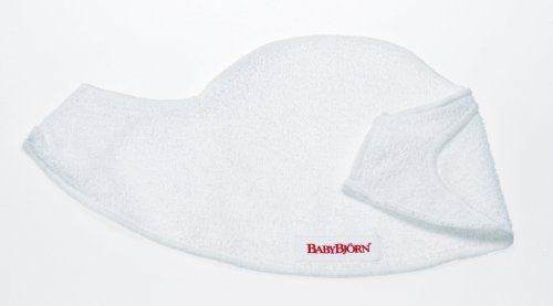 BABYBJORN Bib for Baby Carrier 2 Pack - White by BabyBjörn (Image #1)