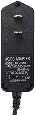 Computer Cables Reliable Switching Wall wart 9V 1A Power Supply Adapter 5.5x2.1mm Input 100V-240V for US Cable Length: Other