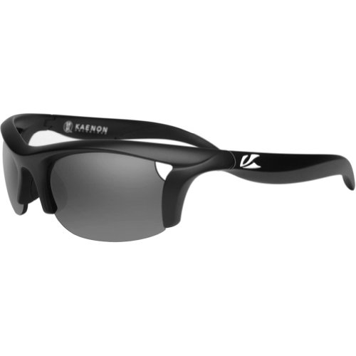 Kaenon Soft Kore 022-04-G12NP Rectangular Sunglasses,Matte Black,57 - Kaenon Kore Sunglasses