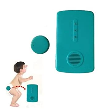 Amazon.com: Inalámbrico Wet Alarma Baby Wet Recordatorio ...