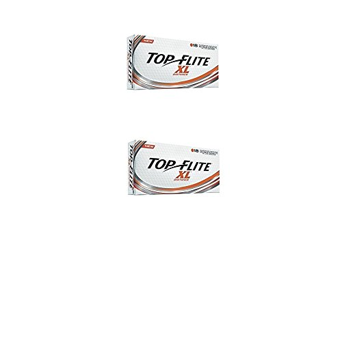 Top Flite XL Distance Orange, 36 Pack (2016) (Orange, 36)