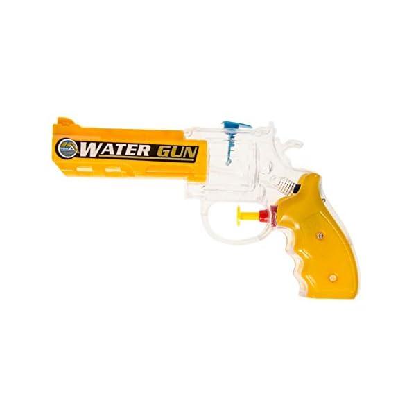 b.g 1 Pistola AD Acqua Revolver 19 X 9 CM Pistola AD Acqua Piscina ALL'APERTO 1 spesavip