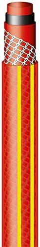 Mangueira Nts Antitorção 30m + Engates + Esguicho (Vermelha) Tramontina