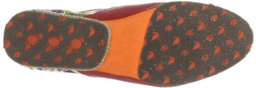 Damen Schnürhalbschuhe Stork Red A7 Mehrfarbig Samurai Steps t1qOqw4B