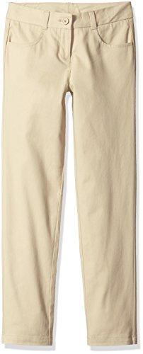 Dockers Capri Pants (Dockers Big Girls' Uniform Skinny Pant, Khaki, 10)