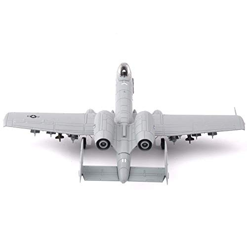 Greensun Kid Toys for Gift 1/100 USA 1994 A-10 Thunderbolt II Warthog Fighter Model for Collections (Model Diecast A10 Warthog)
