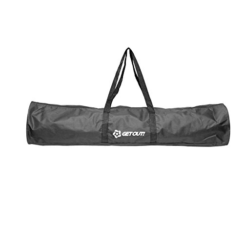 "Get Out! | Carrying Bag for 60"" In Corner Flags – Soccer Flags & Soccer Poles Duffel Bag, Soccer Equipment for ()"