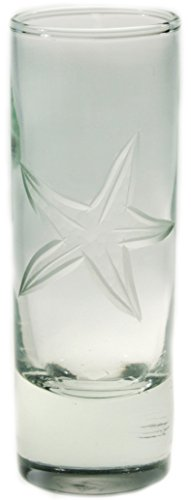 Starfish Cordial Glass 2.5oz by Nautical Tropical Imports (Image #1)