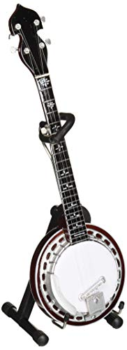 Axe Heaven Classic Banjo Mini Replica Collectible Rosewood Back